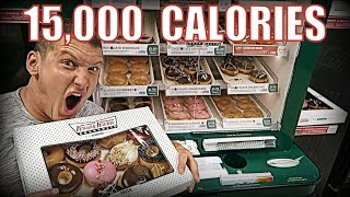 One of MattDoesFitness's most viewed videos: 15,000 CALORIE CHALLENGE | Epic Cheat Day | Man vs Food