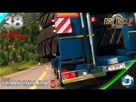 Euro Truck 2 - T5E38 - DLC Special Transport / Transport Especial | Gameplay Español