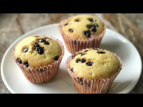 Chocolate Chips Muffins Recipe Without Oven | Choco Chips Muffins Recipe