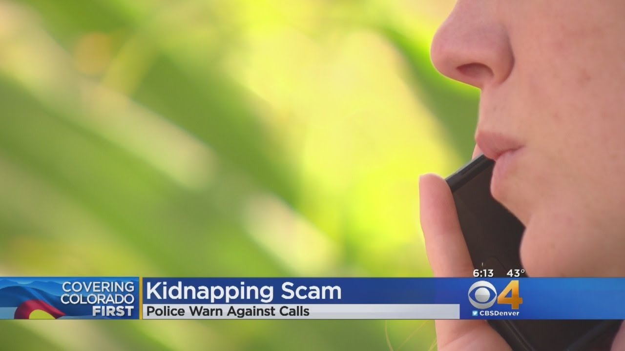 Police Warn Of Kidnapping Scam