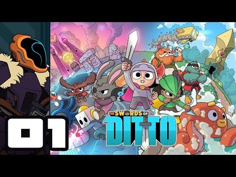 Let's Play The Swords of Ditto - PC Gameplay Part 1 - What Happens When You Skip The Tutorial...