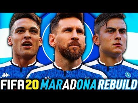 THE NAPOLI ARGENTINA REBUILD CHALLENGE!!! FIFA 20 Career Mode