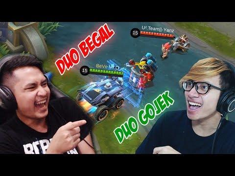 DUO BEGAL VS DUO GOJEK ! SIAPA YANG LEBIH JAGO ? Mobile Legends Indonesia