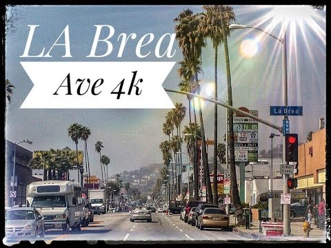 10 Min At La Brea Ave Hollywood 4K
