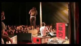 "THE CHARIOT "" The Deaf Policeman "" Live TOTAL DESTRUCTION@ Cornerstone 2008"
