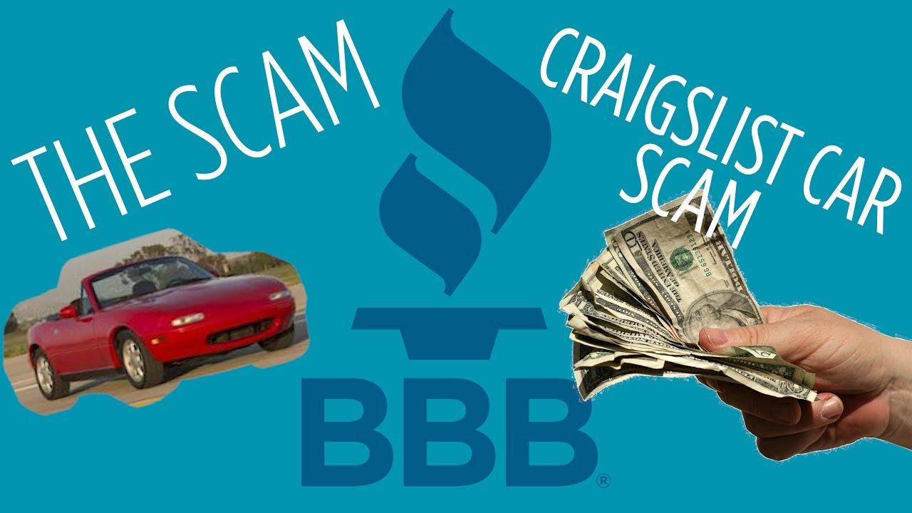 Craigslist Cars The Scam Youtube