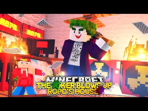 Minecraft Adventure - THE JOKER BLOWS UP ROPO'S...