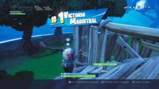 Fortnite Game Won with Royal Lady ( 11 Kills )