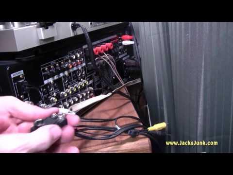 Radio Shack Indoor AM FM Antenna Model 15-1859 - YouTube
