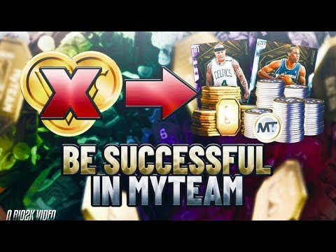 HOW TO BE SUCCESSFUL IN NBA 2K20 MYTEAM! TIPS ON MAKING MT, TOKENS AND EVO CARDS!
