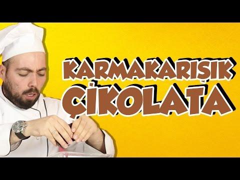 Karmakarışık Çikolata Yaptık - OHA Diyorum Mutfakta