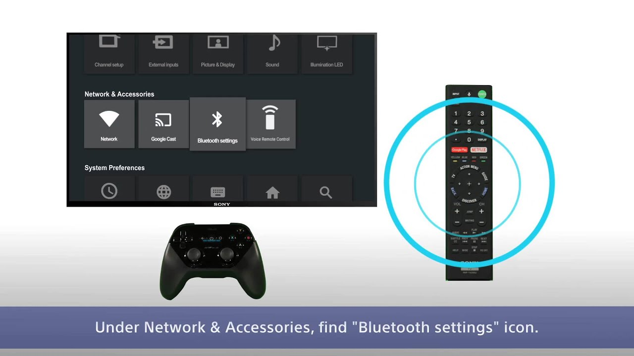Sony BRAVIA - How to connect to Bluetooth devices