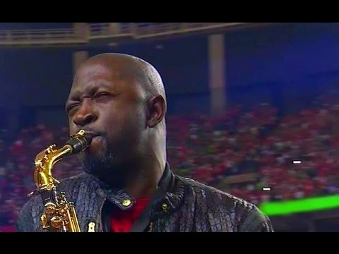 Saxophone National Anthem video  Seahawks VS  Falcons  1/14/2016 NFL SAXTHEM