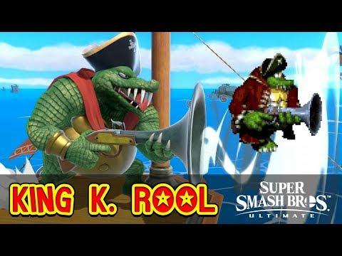 ANALYSE de KING K. ROOL (Super Smash Bros. Ultimate)