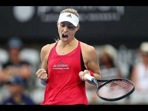 2018 Sydney International Quarterfinals   Angelique Kerber vs Dominika Cibulkova   WTA Highlights