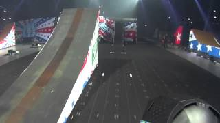 amazing 4 person backflip crash on board with cam sinclair