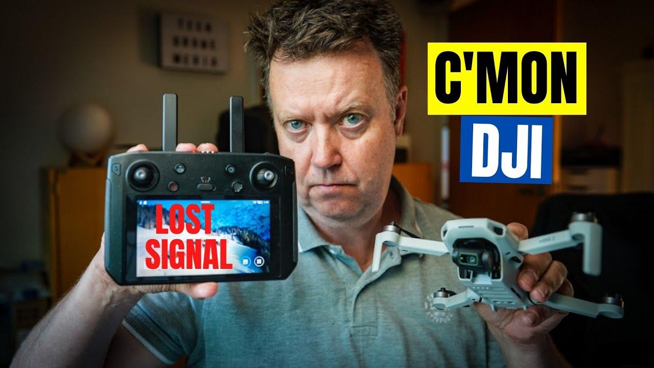 Weak Signal & Lagging Video with DJI Mini 2 Smart Controller Update