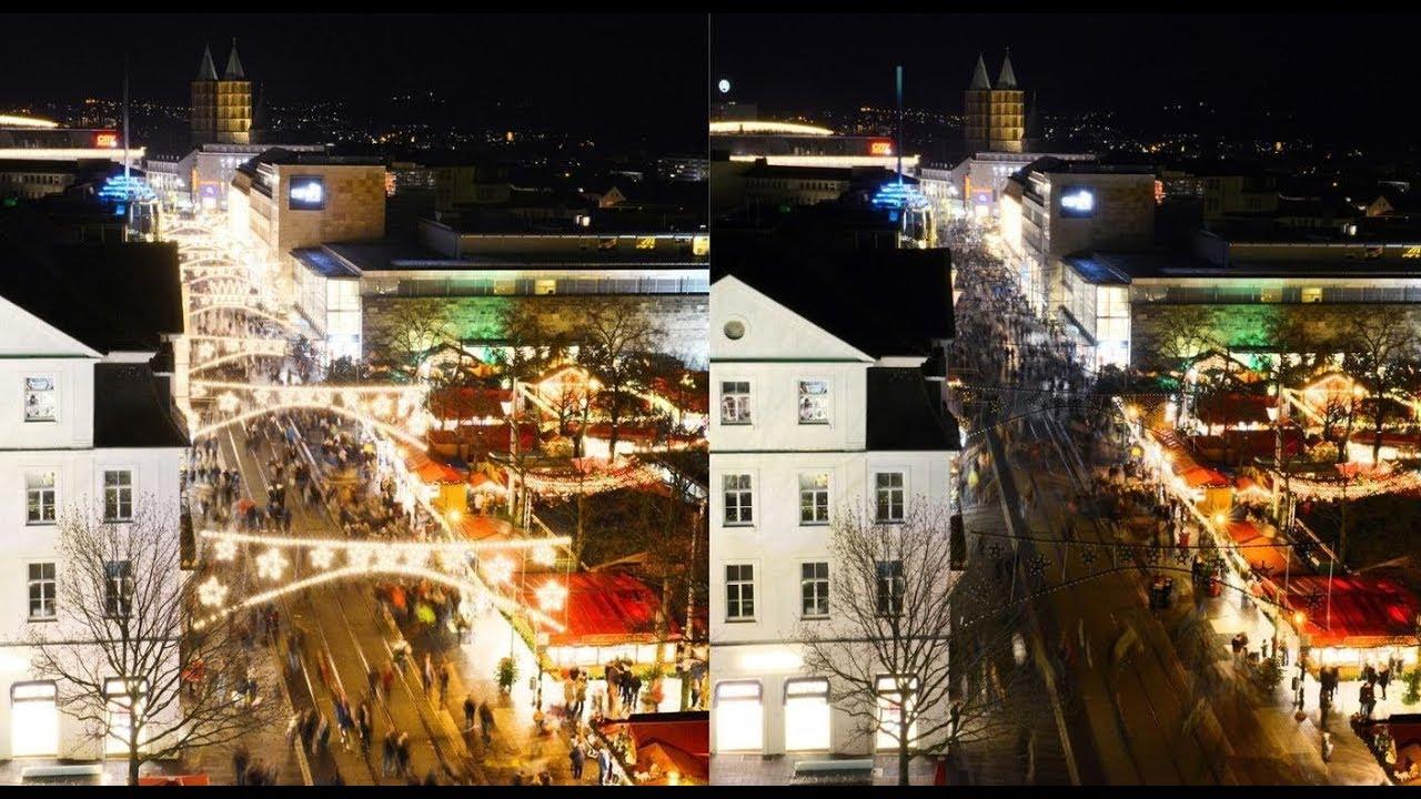 Ab Wann Weihnachtsbeleuchtung.Plötzlich War Es Dunkel Kasseler Kaufleute Schalten Aus Protest Weihnachtsbeleuchtung Ab
