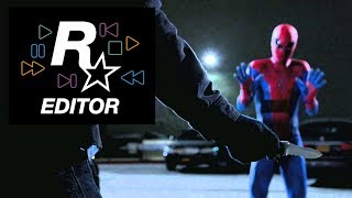 """The Amazing Spider-Man Car Thief Scene"" Recreated in GTA V"