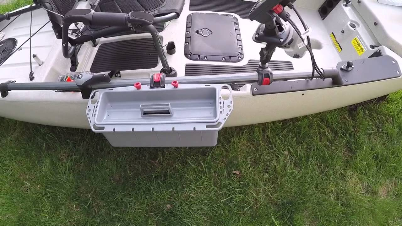 Hobie pa 14 set up for fishing 2 youtube for Pa out of state fishing license