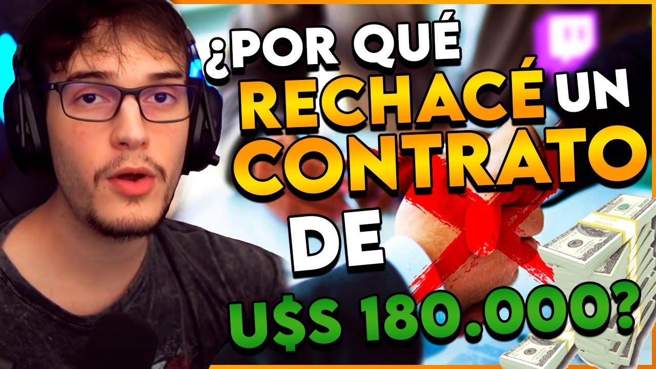 RECHACÉ UN CONTRATO DE U$S 15.000 AL MES