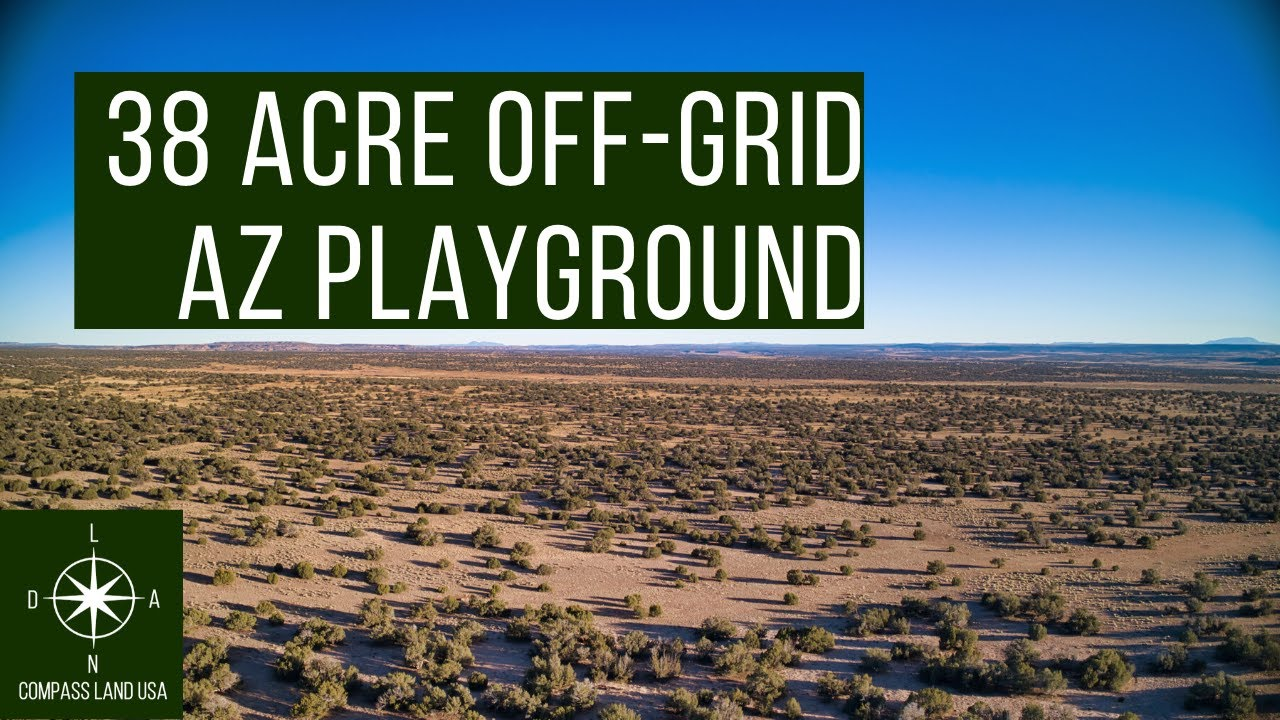 SOLD by Compass Land USA - 38.41 Acre Off Grid Arizona Playground