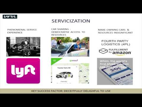 The Value of Digitalisation in Services: Mobility as a Service