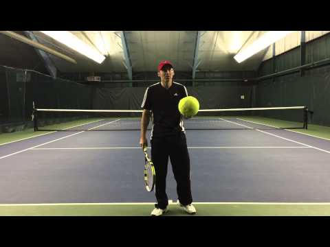 Directional Control Tip for Tennis Players