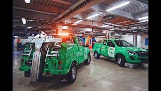 Эвакуатор ISUZU D-MAX 4х4 для подземных автостоянок и многоярусных паркингов!