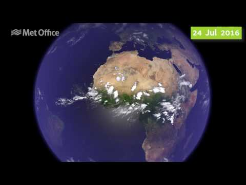 A weather satellite's view of 2016