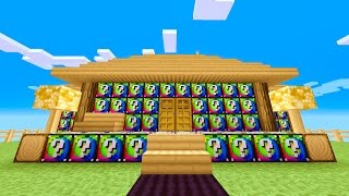 500 LUCKY BLOCKS - Minecraft LUCKY BLOCK BATTLE | Tom Shuffle