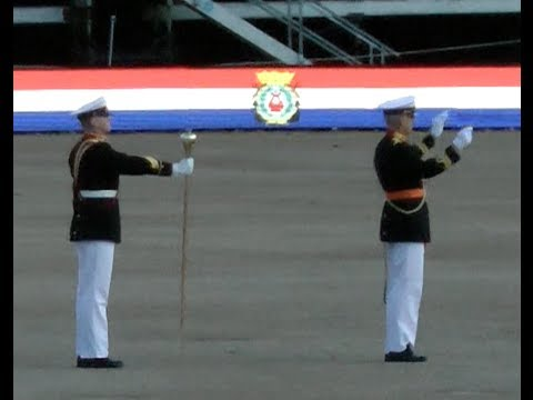 Beating Retreat 2014 Marinierskapel der Koninklijke Marine