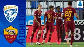 Brescia 0 3 Roma Fazio Kalinić and Zaniolo Score in Dominant Roma Victory Serie A Tim