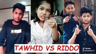 TAWHID AFRIDI VS RANGAN RIDDO | BANGLA FUNNY VIDEO 2018 | BD NEW TIKTOK VIDEO
