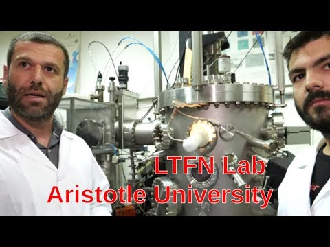 LTFN Nanotechnology Lab Tour at Aristotle University in Thessaloniki Greece