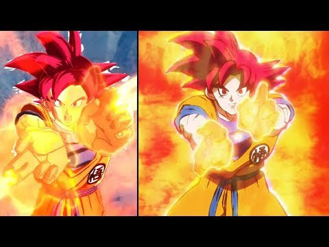 Super Saiyan Vegeta And Super Saiyan God Goku References - Dragon Ball Legends