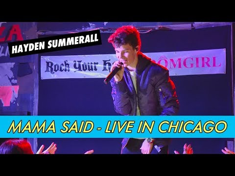Hayden Summerall - Mama Said (Live in Chicago)