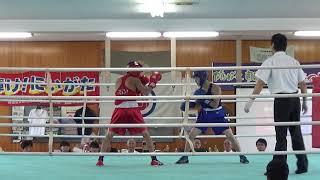 H30 国体北信越大会 少年 F級 寺田烈 対 滝澤栄吉 ボクシング