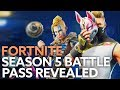 ALL Fortnite season 5 battle pass rewards, skins, emotes, gliders, and more