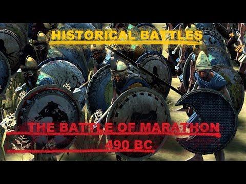 "Historical Battles: The Battle of Marathon   ""The Longest Day"""