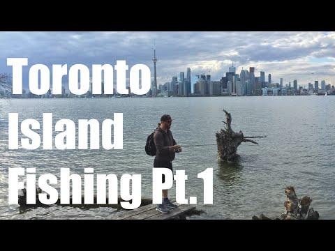 Toronto Island Fishing Pt 1.