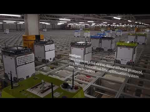 Introducing the Ocado Smart Platform automated fulfilment solution (promo video)