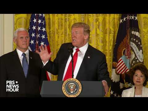 WATCH: President Trump delivers remarks regarding the National Space Council