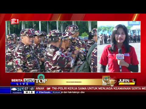 Jokowi Hadiri Apel Kebangsaan Bela Negara FKPPI