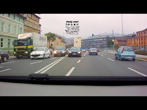 Dashcam Road Fails + Bonus (Scenic drive through Ljubljana at the end)