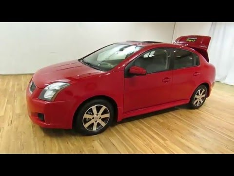 2012 nissan sentra 2 0 special edition sunroof carvision com youtube. Black Bedroom Furniture Sets. Home Design Ideas