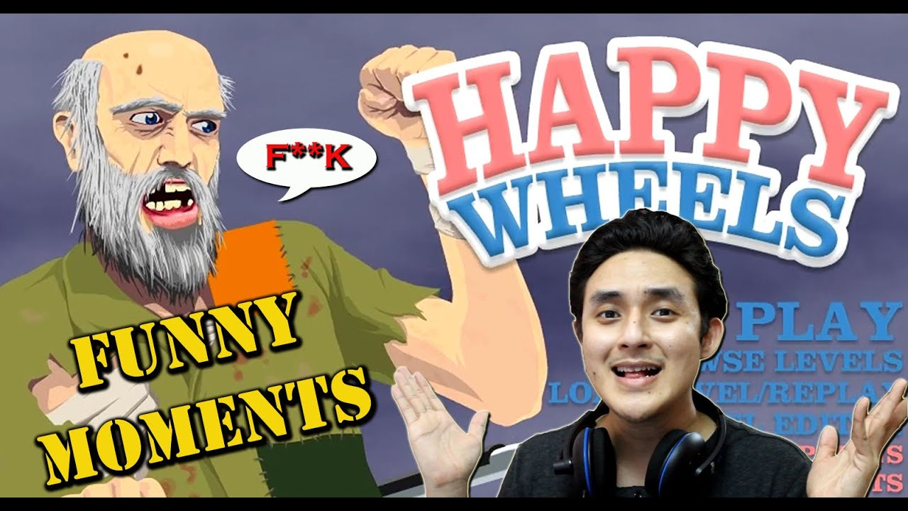 Happy Wheels Game Funny Moments W Hemant T Pc Gameplay