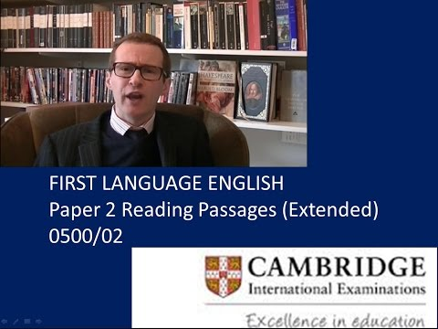 Achieving an A* in the IGCSE English Language Examination