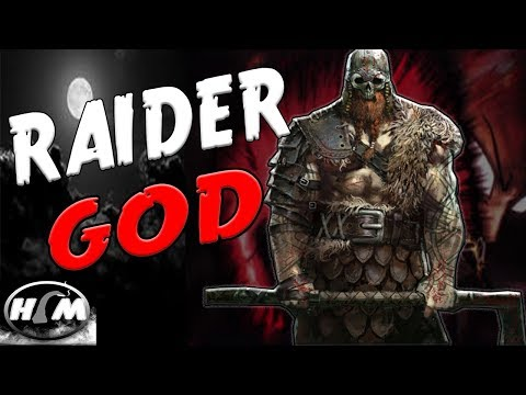 LIGHTNING GOD RAIDER!! -  |For Honor Gameplay|