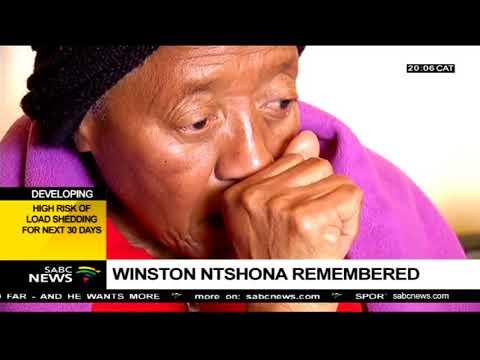 Percy Ntwa remembers Winston Ntwa